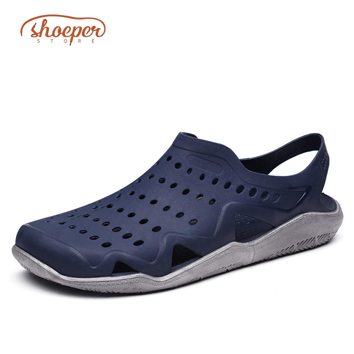 4476d590042c3f ShoePer JXS-2 Outdoor Slip-on Sandals for Men ideal for Rainy or Summer