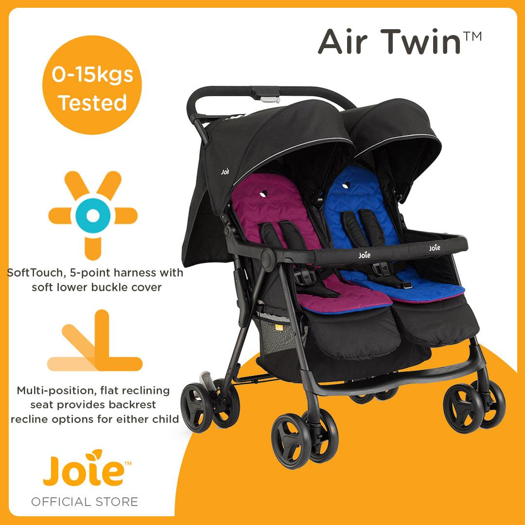 Joie Aire Twin Stroller By Joie Baby Official Store.