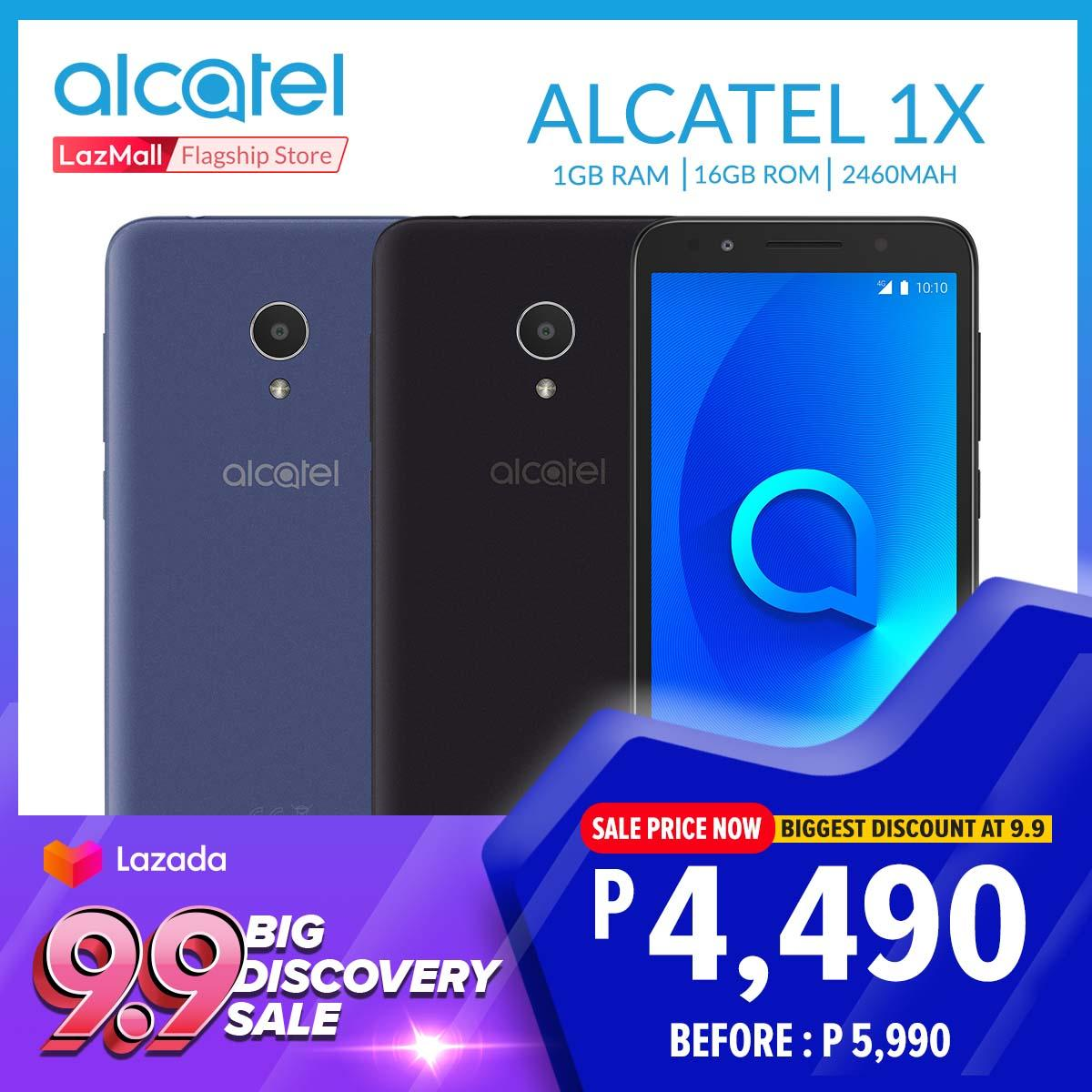 Alcatel 1x 5059I FullView 18:9 display