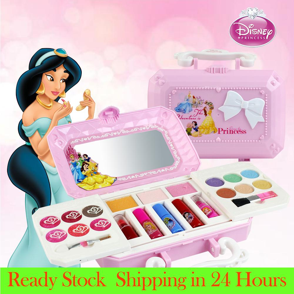 8dc3da48a31c  Lowest Price across Lazada DlSNEY Cosmetics Play Set Princess Makeup Kit  with Case For