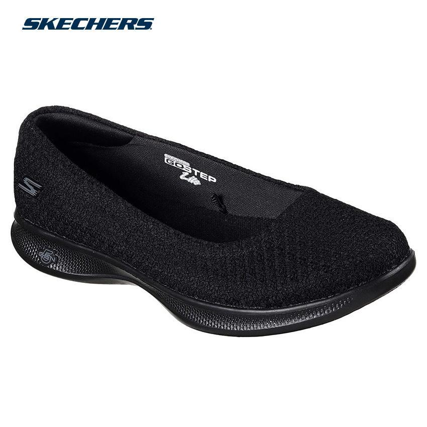 d15d345bd96 Skechers Women Go Step Lite - Enchanted Shape-Ups Footwear 14472-BBK (Black