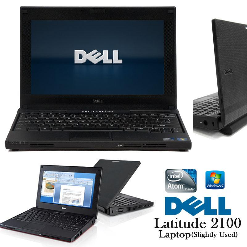 Netbook Dell 2100 Intel Atom CPU N270 1 6ghz 2gb 160gb