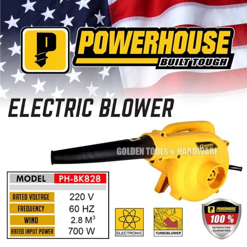 Powerhouse Phbk-828 Electric Blower By Golden Tools & Hardware.