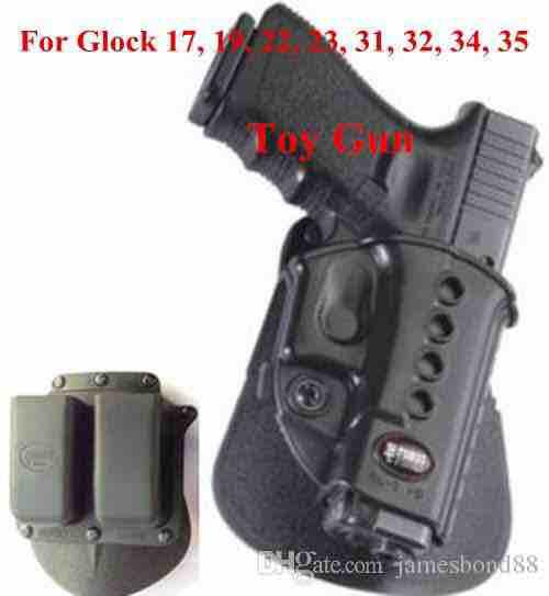 Holster set For GLOCK 17 19 23 25 31 34 35 41 with Magazine Pouch 9mm