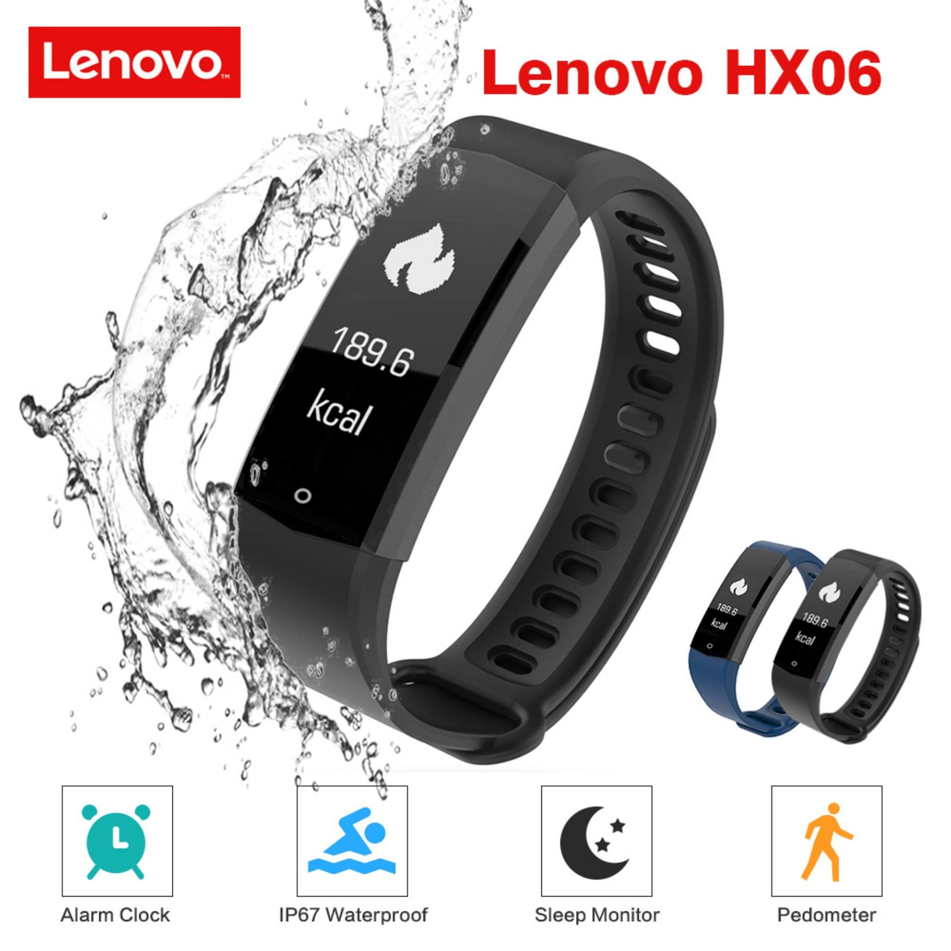 9c159f86d Lenovo HX06 Smart Wristband Bezel-less Screen Fitness Tracker
