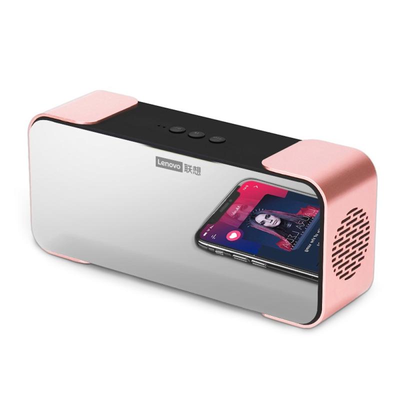 Lenovo L022 (Phiên bản tiêu chuẩn) Loa BT với Loa không dây di động Gương Máy nghe nhạc với âm thanh HD và âm trầm 10W cho gia đình / ngoài trời / du lịch