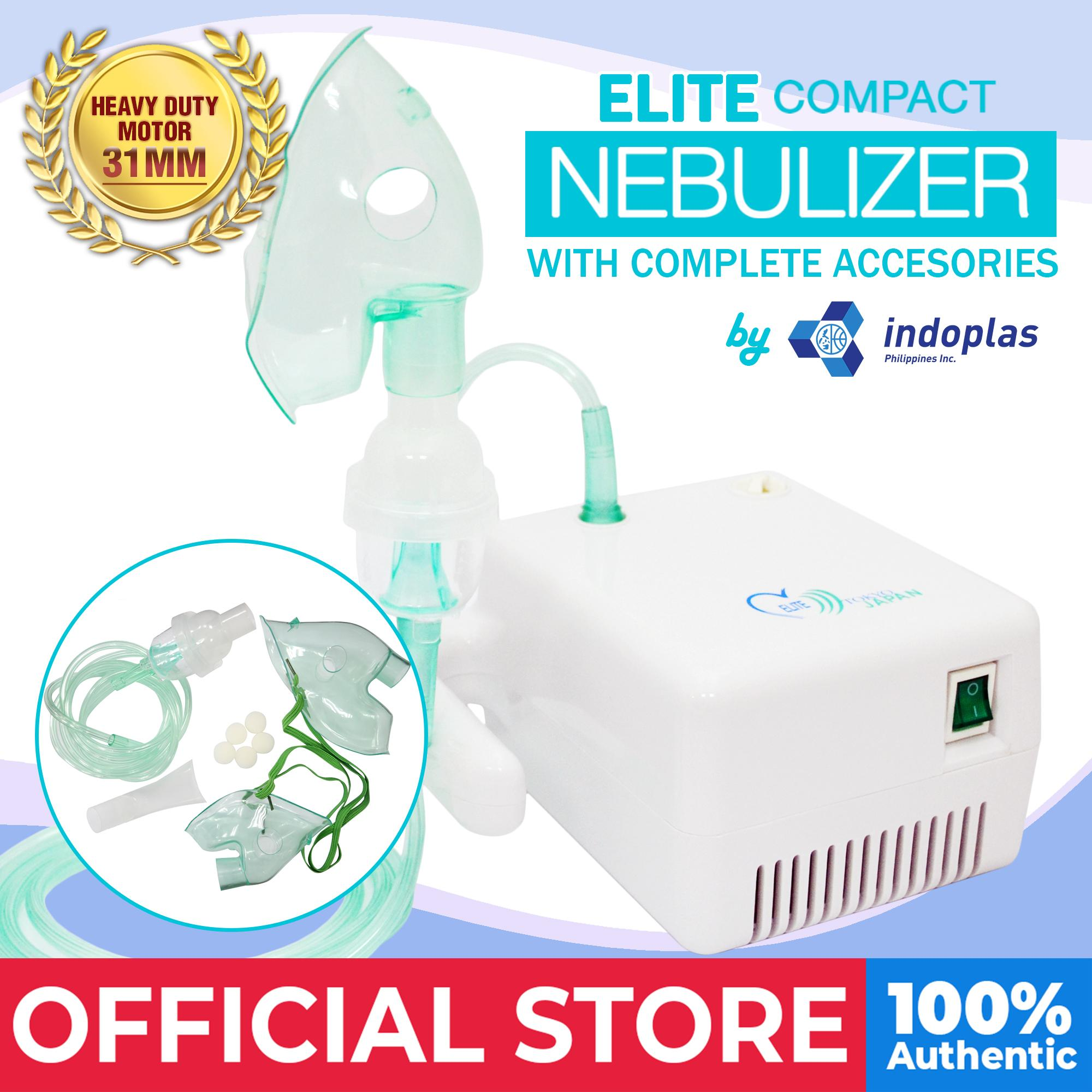 Elite Compact Nebulizer (w/ Complete Accessories) By Medical Supplies Philippines.
