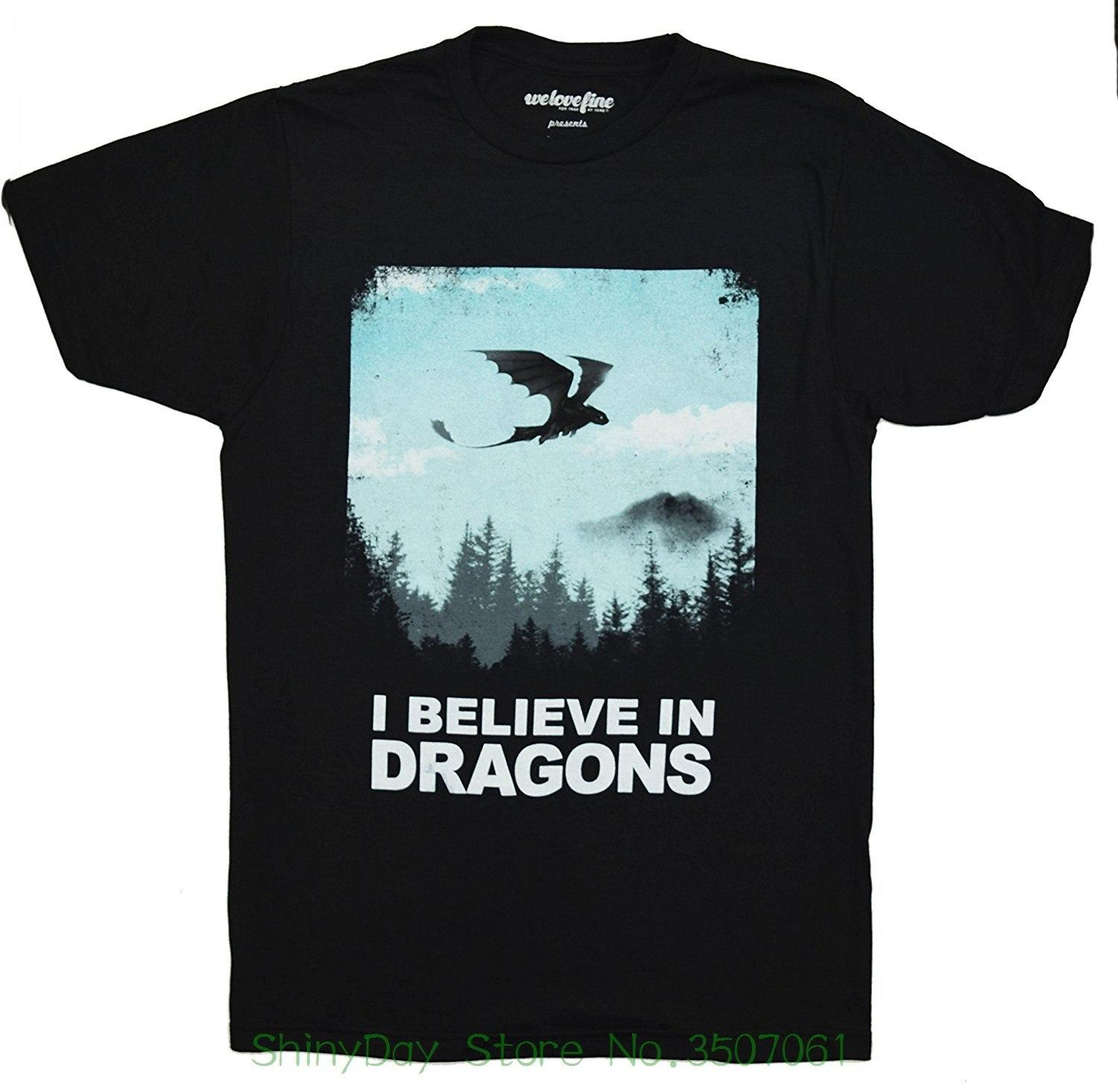 00127376 QCCL Tee Shirt Mens 2018 New Tee Shirts Printing Dreamworks How To Train  Your Dragon Want