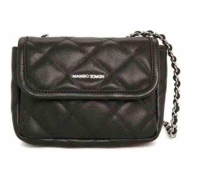 Mango Touch Sling Bag - Black