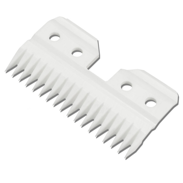 10Pcs/Lot Replaceable Ceramic 18 Teeth Pet Ceramic Clipper Cutting Blade for Oster A5 Series
