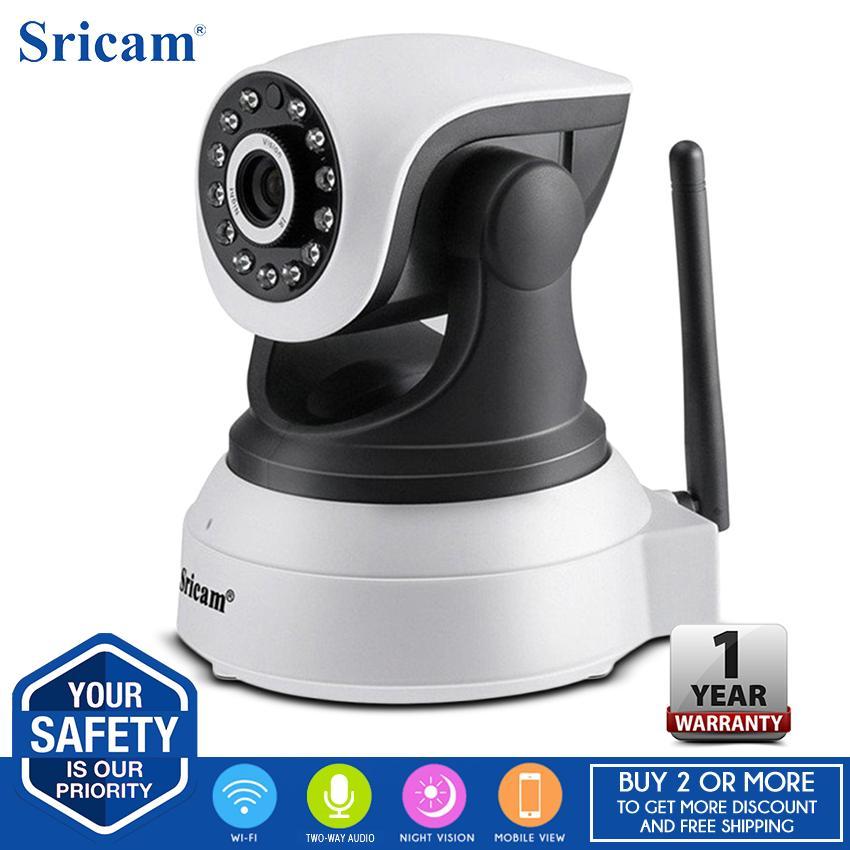 Sricam SP017 1080P HD IP Camera Wireless IR Night Vision Camera NVR P2P  Motion Detection 355 Degrees PanTilt Indoor Surveillance CCTV Camera