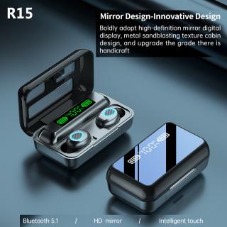 Tai Nghe Mo-home Chính Hãng R15 Tai Nghe Không Dây, Tai Nghe Bluetooth 5.1, Màn Hình LED Điều Khiển Cảm Ứng 3D IPX7 Không Thấm Nước thumbnail