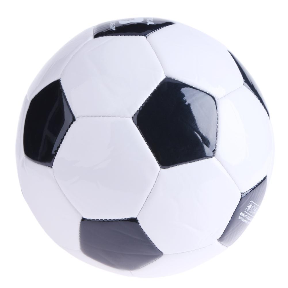 617fee4ba9b Soft Classic NO.3 Black White Standard Size Soccer Ball Training Football