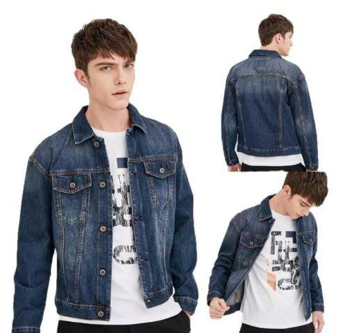 Casual Jacket Mens Denim Jacket For Men Maong Jacket S-Xl By Heartvale.shop.