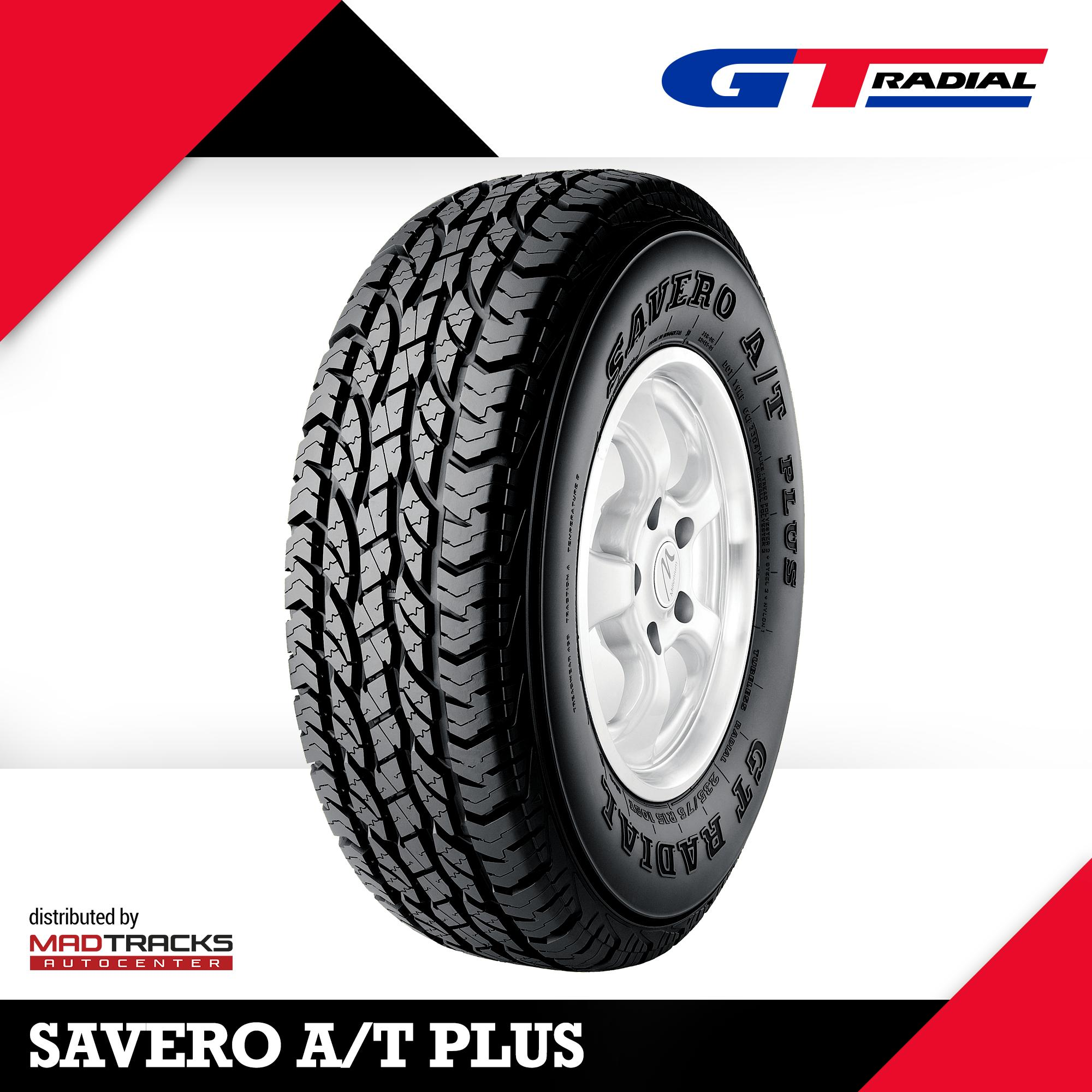GT Radial 225/75 R16 104T SAVERO A/T Plus Tire