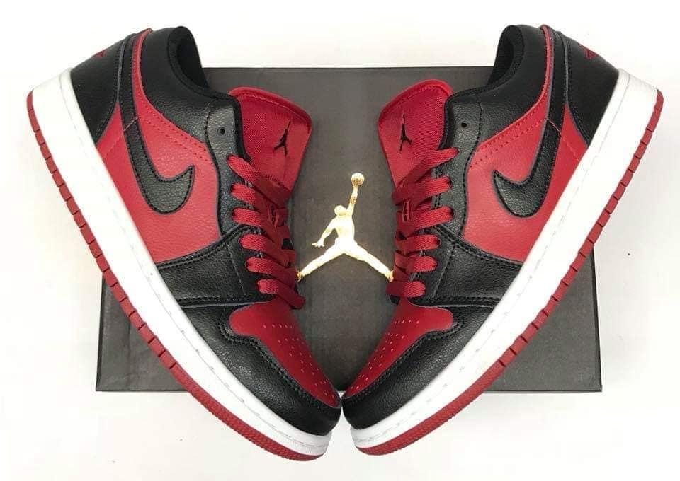 quality design 3fe1b 2998f Jordan 1 Retro Low Red