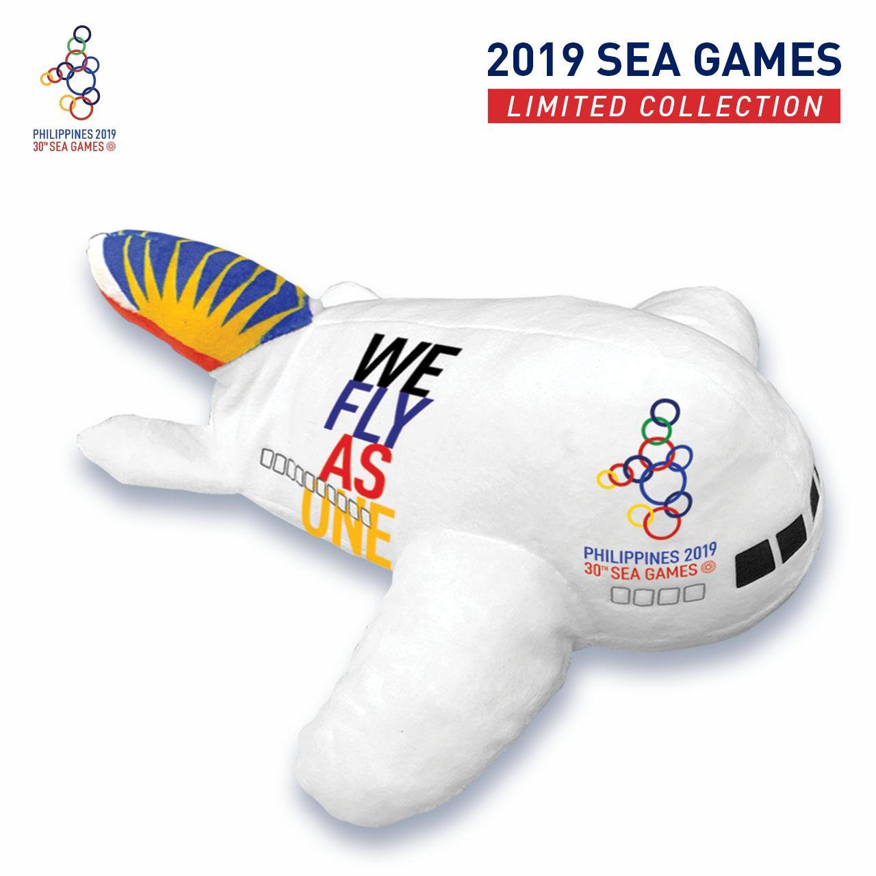 Pal S 2019 Sea Games Plane Plushie