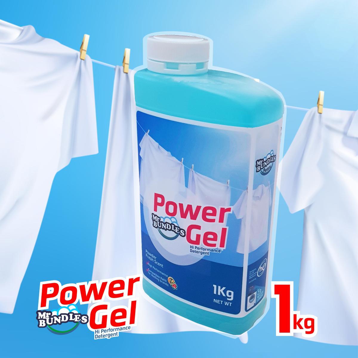 Mr Bundles Power Gel Detergent Regular Size 1kg