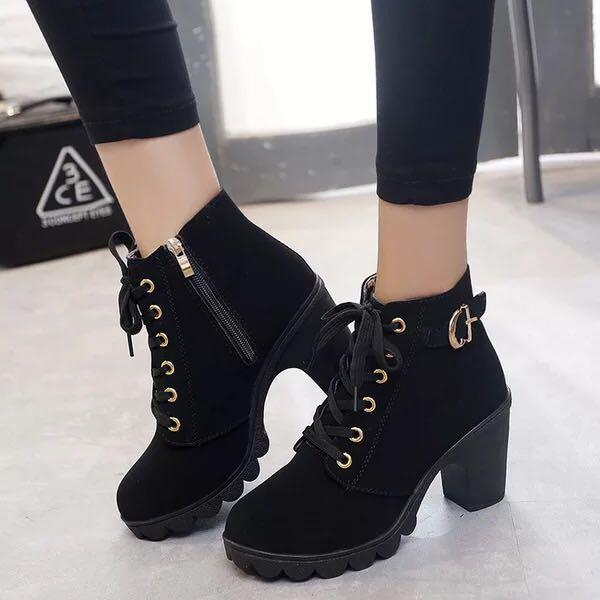 1d780b6c7ea [JESSICASTORE]Foreign Version of Ankle Boots for Women Korean Fashion#888