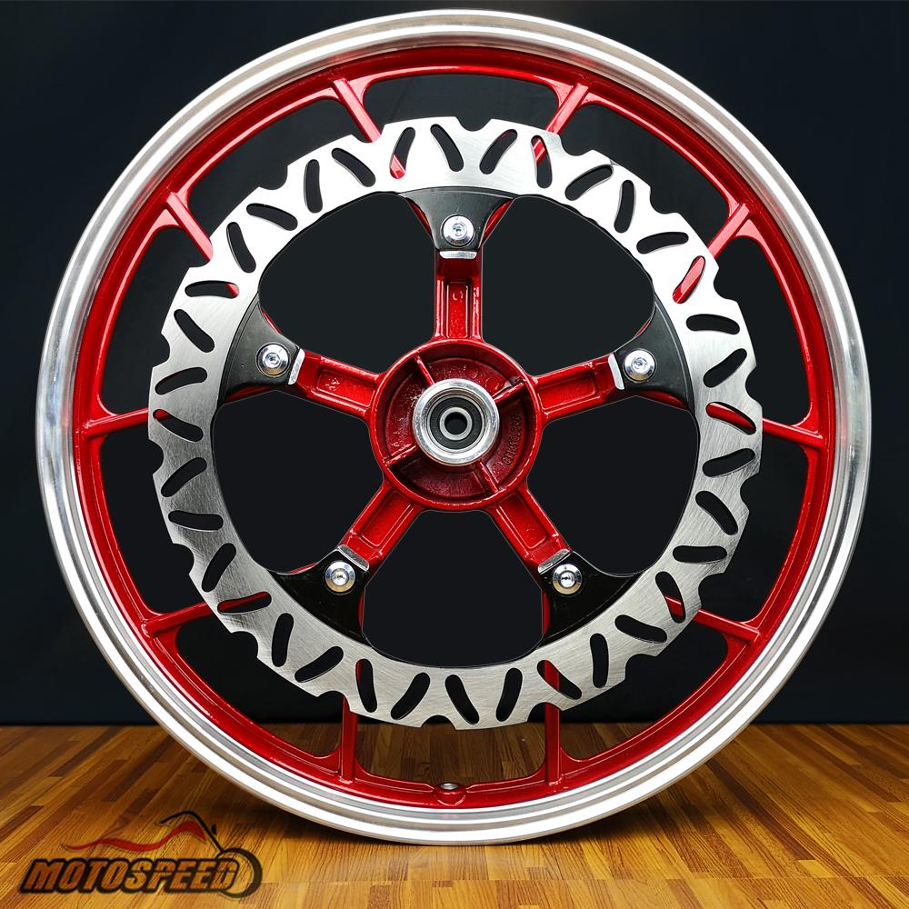 MOTOSPEED HIGH PERFORMANCE MAGS SET [RED]-XRM, WAVE 125, WAVE100R