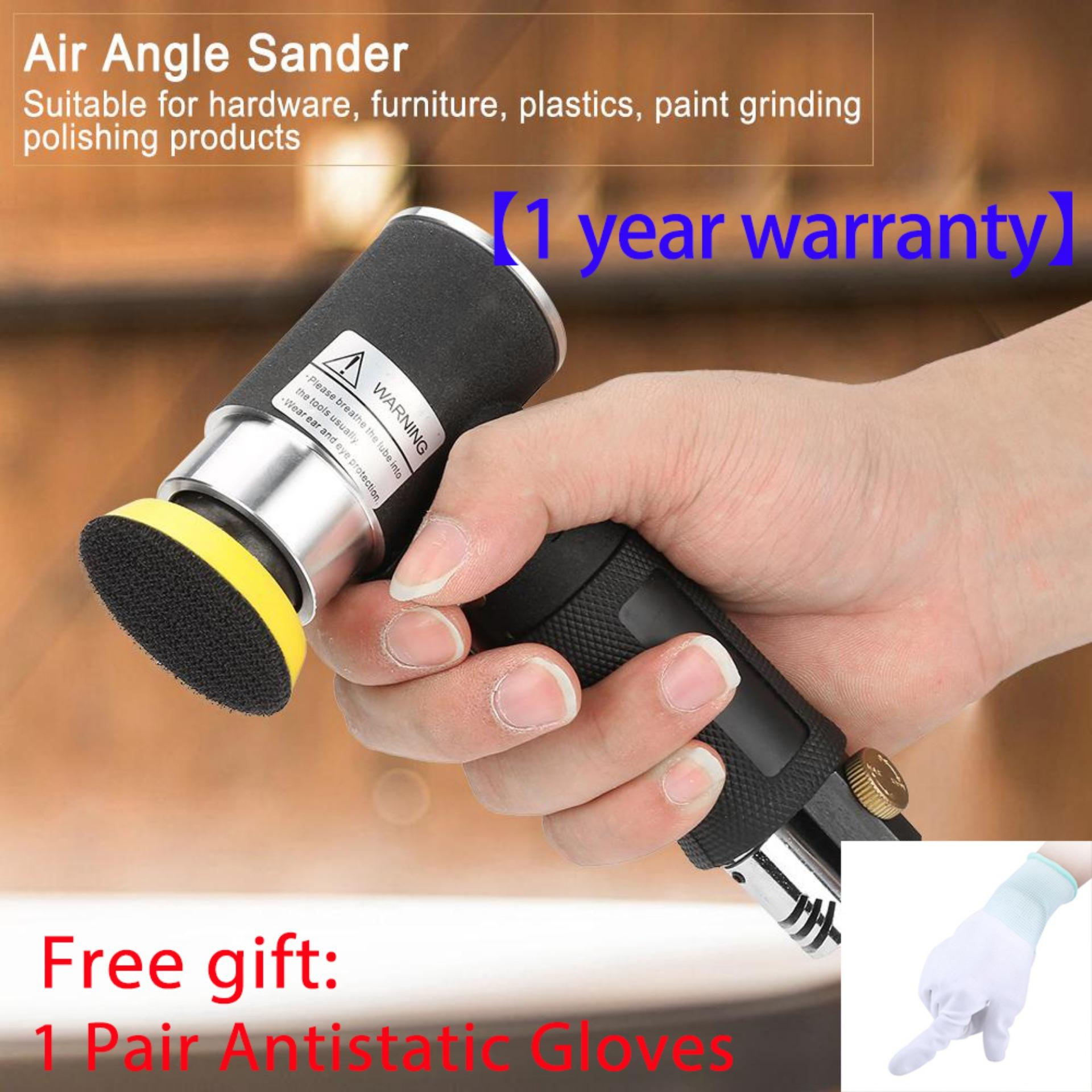 【time-Limited Promotion】【free Gift】mini Air Angle Sander 90° Pneumatic Polishing Grinding Machine + 2inch 3inch Sanding Pad By Lfinger.