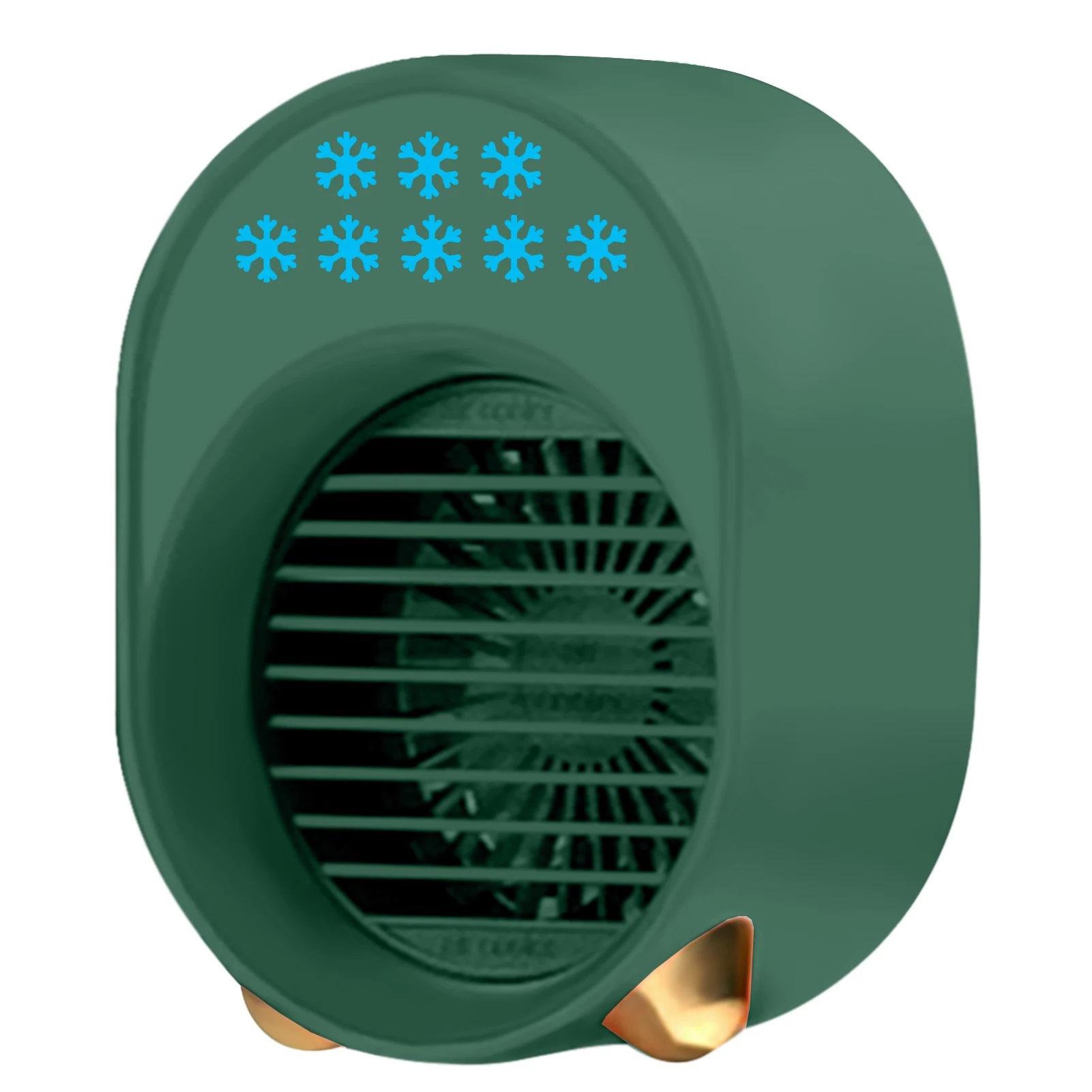 Quạt Mát Đa Năng 280Ml, Quạt Điều Hòa Không Khí Làm Mát Nhanh LED 3 Cấp Độ Bằng Nhựa ABS Nguyên Tử Hóa Nano Cho Sử Dụng Hàng Ngày