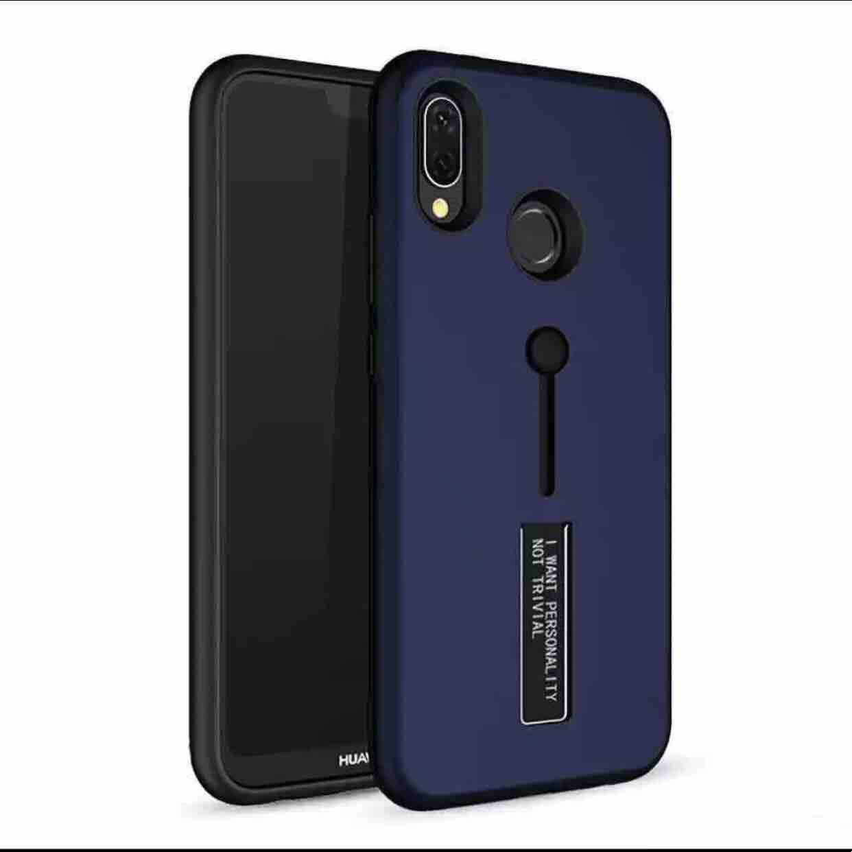 Vivo Y91 armor case with ring stand