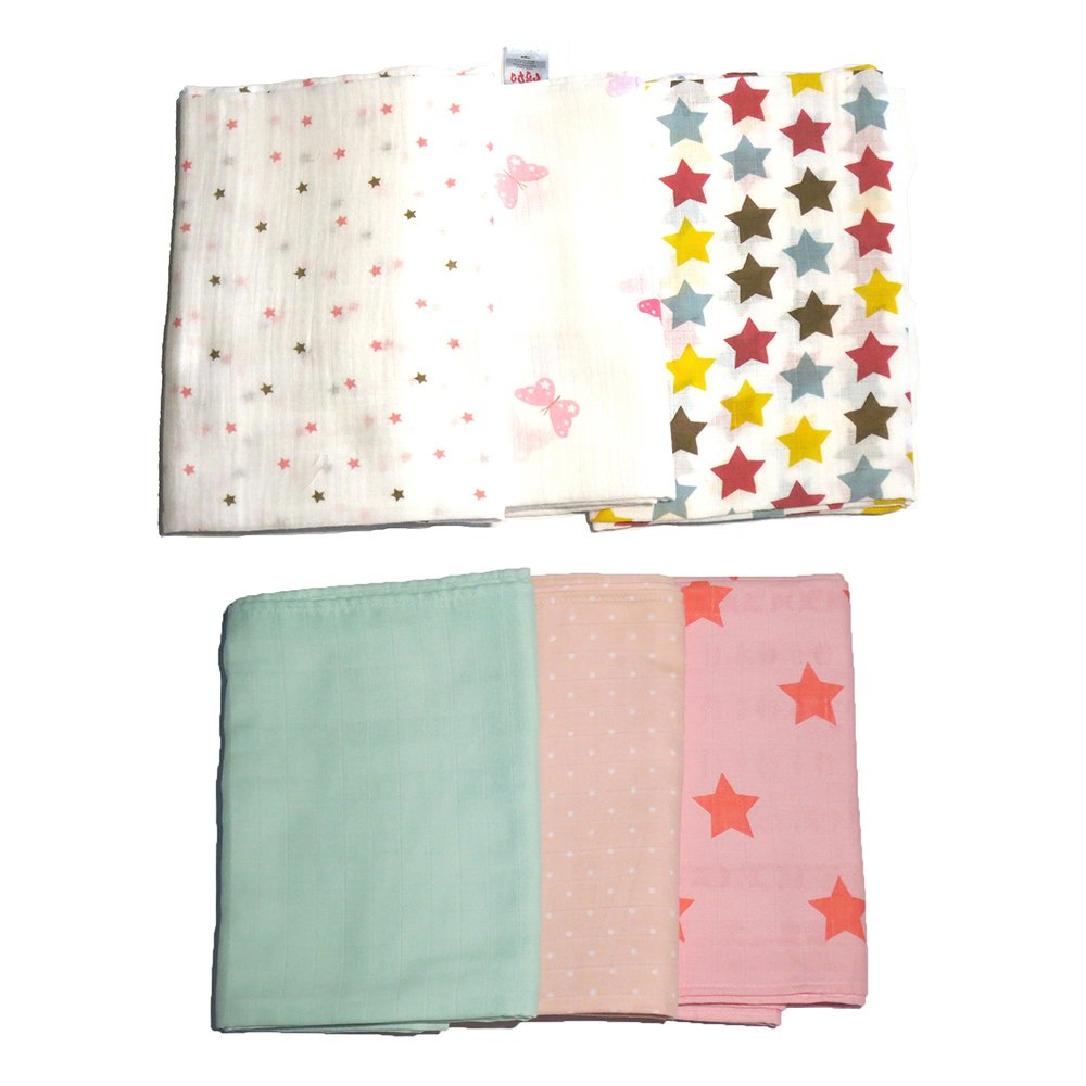 Feo en Rafa Muslin Swaddle Set of 6 product preview, discount at cheapest price