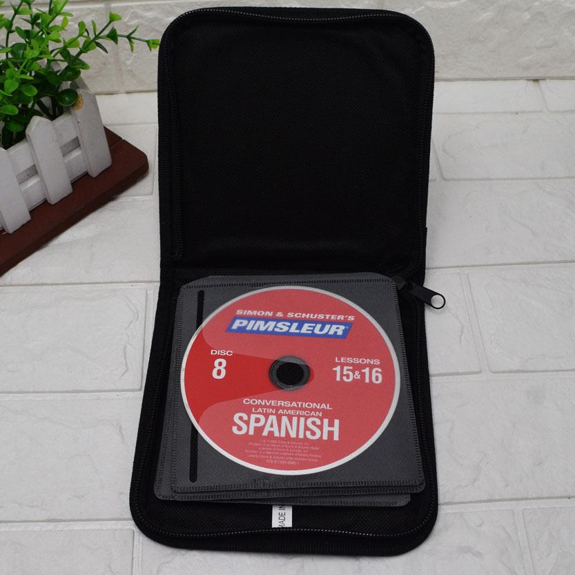 Pimsleur 8 Discs 16 Lessons Conversational Latin American Spanish Language Program By Manmico-Media, Games & Music.