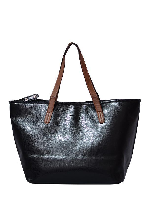 Mango Shopper Bag Black