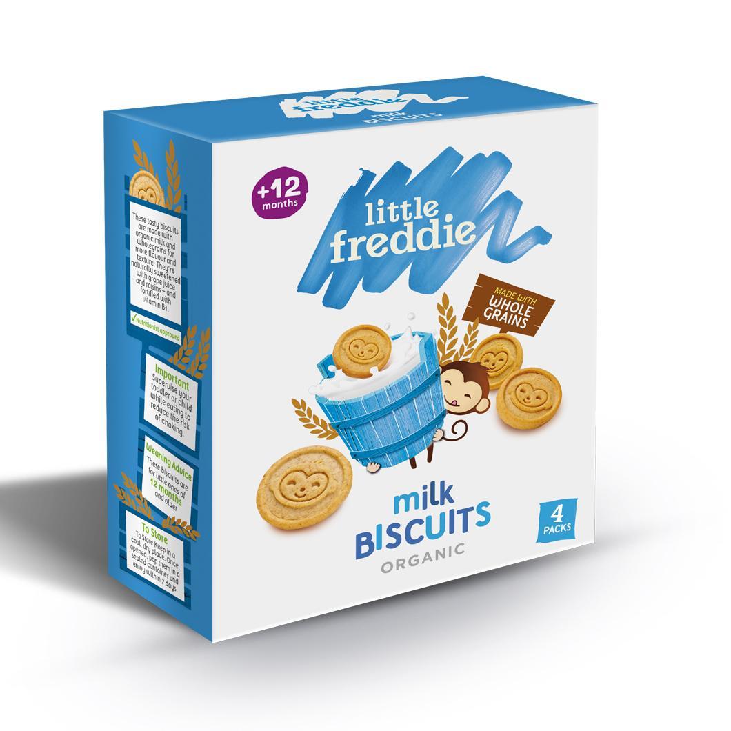 Little Freddie Milk Biscuits By Babyzone.