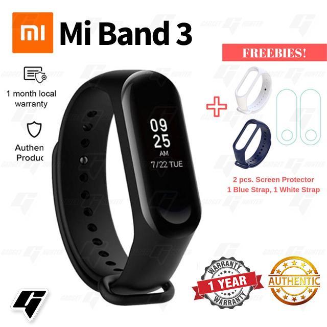 Original Xiaomi Mi Band 3 Smartwatch Bracelet Wristband Heart Rate Monitor  Fitness Tracker Wireless Bluetooth 4 0 With 0 78 inch OLED Screen(Black)