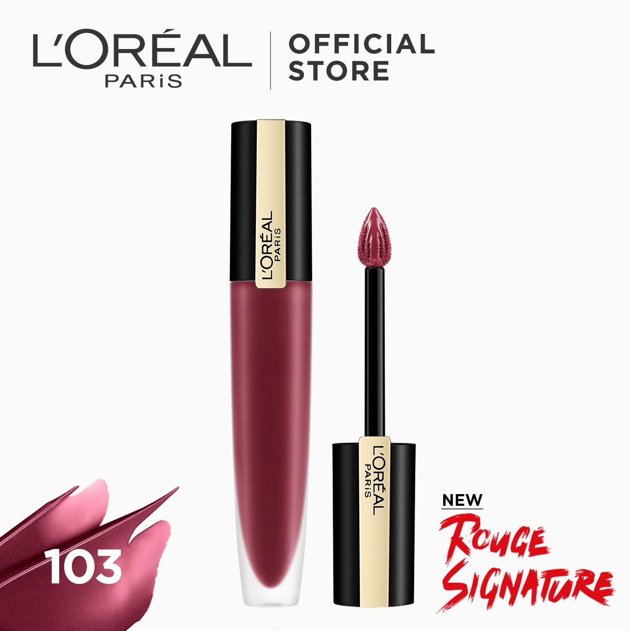 LOreal Paris Rouge Signature by LOreal Paris Philippines