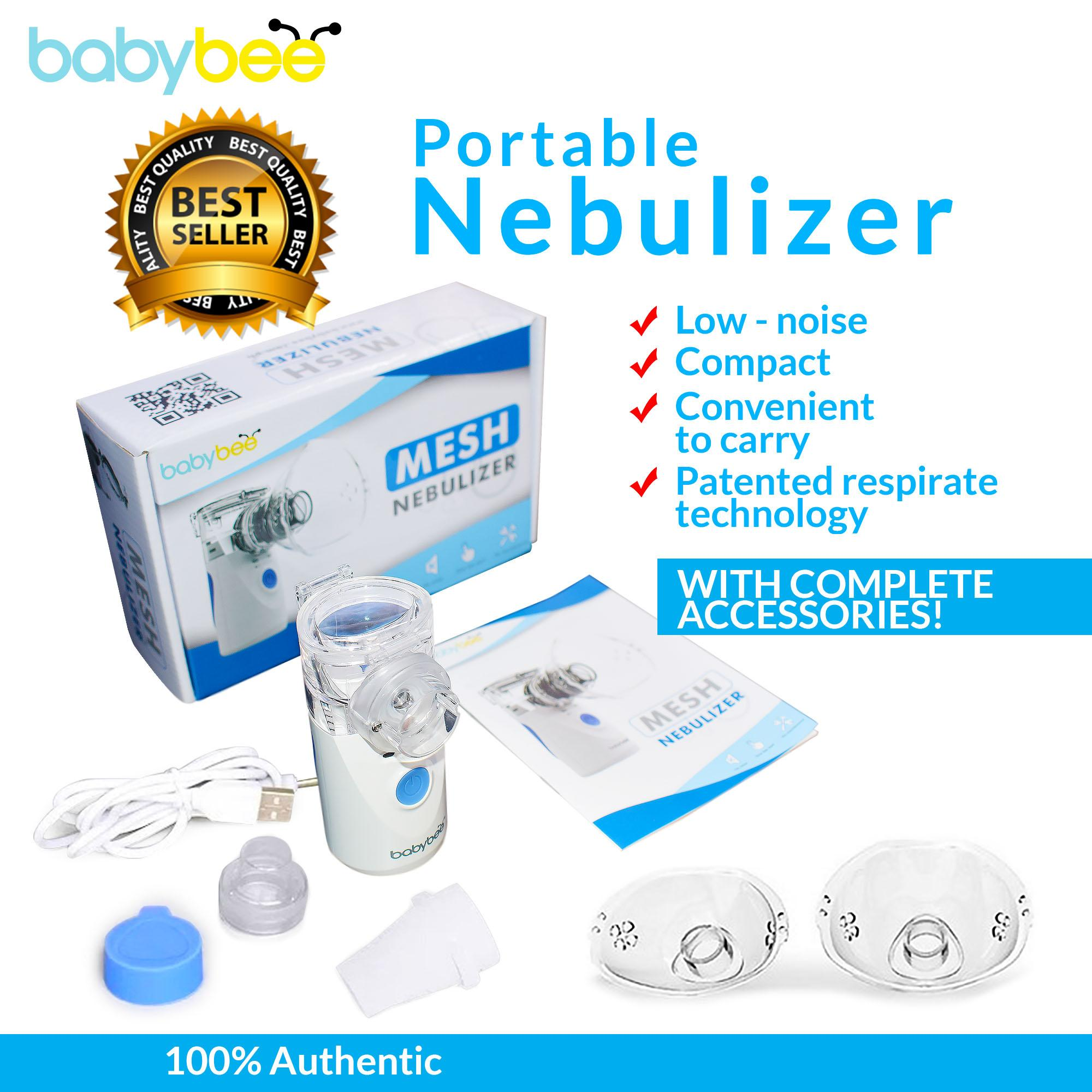 Portable Nebulizer Inhaler And Handheld Vaporizers For Kids, Adults From Babybee By Jaylin19.