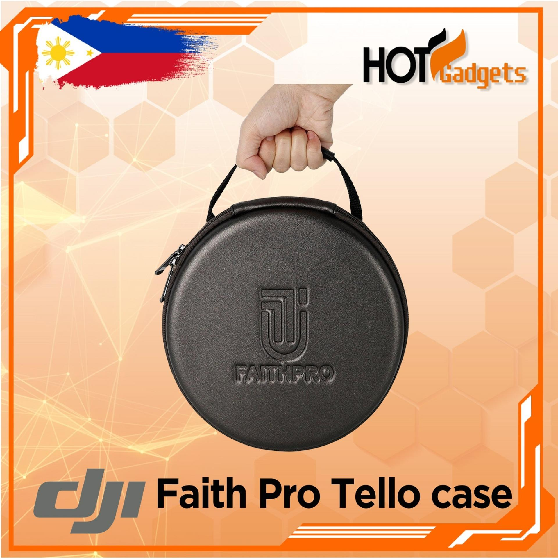 FaithPro DJI Tello Carrying Case Drone Portable Carbon Fiber Storage  Splashproof for DJI Tello Drone