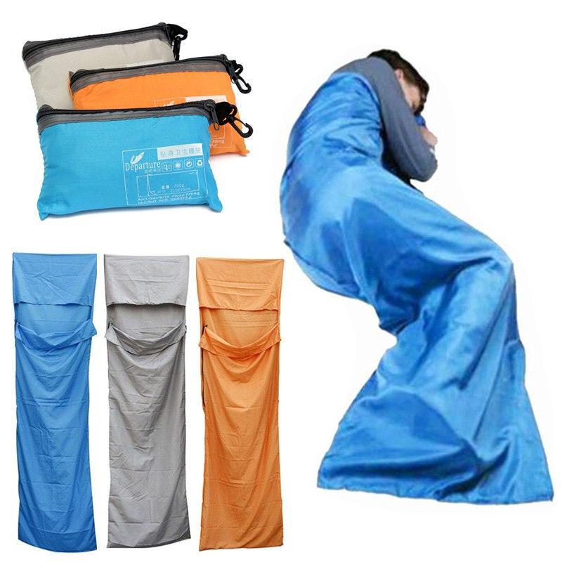 Travel Ultra-Light Envelope Outdoor Sleeping Bag By A-To-Z Shop.