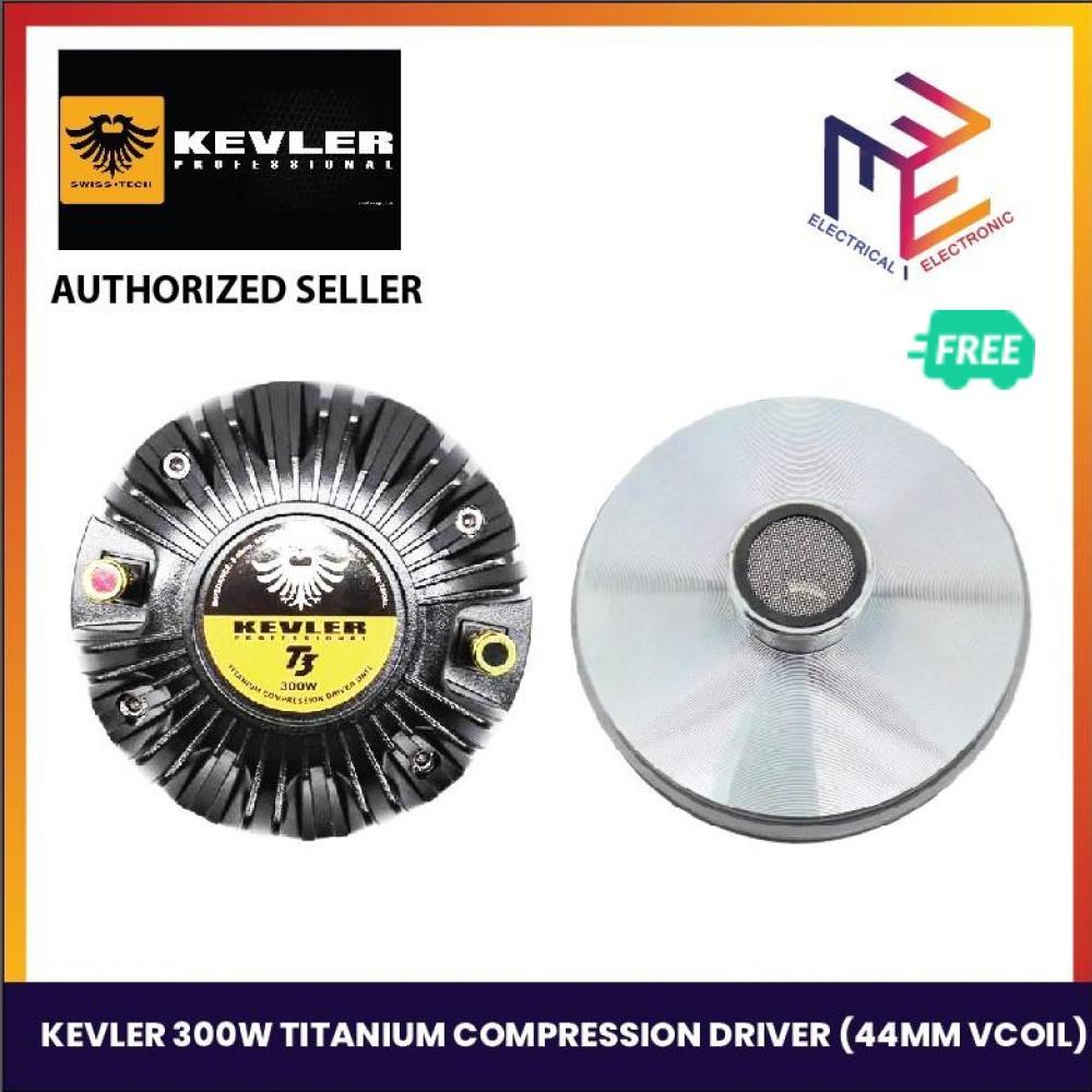 Kevler T3 300W RMS 8ohms Titanium Compression Driver Unit for Tweeter
