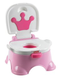 Fisher-Price Royal Stepstool Musical Potty Trainer (Pink)