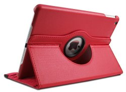 Flip Leather Case for Apple iPad Mini 4 (Hot Pink)