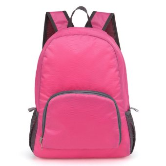 Foldable Bag Pack (Pink)