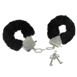 Frisky Caught in Candy Handcuffs (Black)