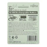 Fujitsu Ready-to-Use AA Rechargeable Batteries Set of 2 (White) - thumbnail 2