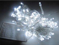 GAKTAI 10M 100 LED Bulb Christmas Fairy Party Deco String Lights Waterproof 220 V EU Plug (White) (Intl)