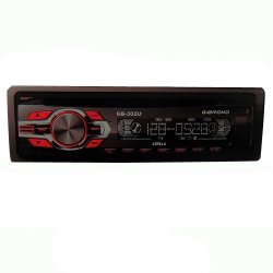 Gibrono GB-302U Car Stereo (Black)