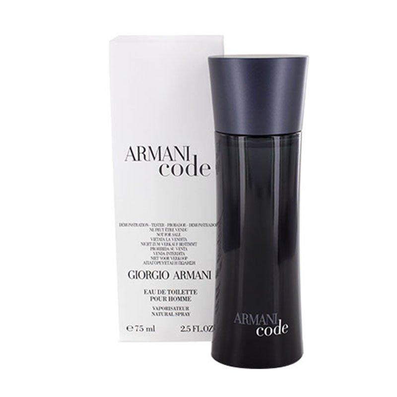Giorgio Armani Armani Code Eau De Toilette for Men 75ml (Tester)