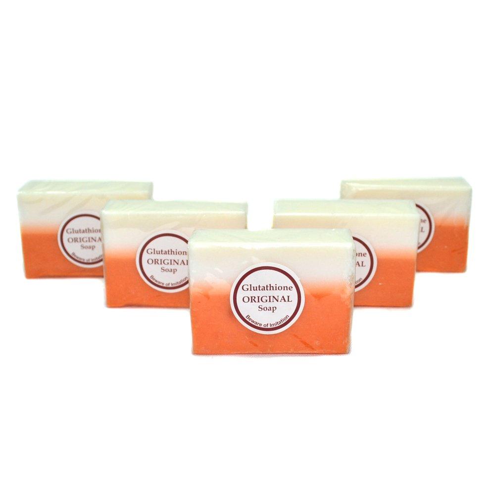 Glutathione Whitening Beauty Soap Set of 5 - thumbnail
