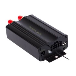 GPS/GSM/GPRS/SMS Tracker Vehicle Tracking System (Black)