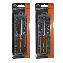 wawawei GQ-220 Screwdriver case  28pcs Set of 2