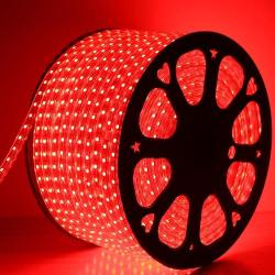 Granmerlen GML-3528 Durable LED Strip Lights with Adaptor (Red)