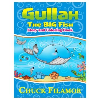 Gullah The Big Fish Story and Coloring Book (White) - picture 2